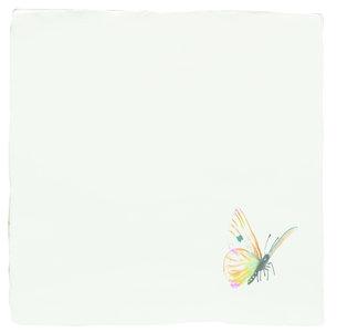 A Kaleidoscope of butterflies Spangled Saffron 130 x 130