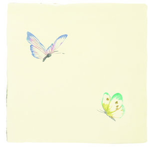A Kaleidoscope of butterflies Lavender Sprite & Emerald Siren 130 x 130