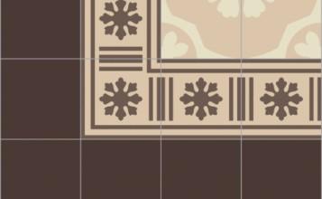 Bisazza border cementtegel Square Blizzard Arachide 200 x 200