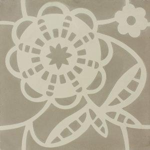 Daisy Sand Patroontegel Multi color 200 x 200