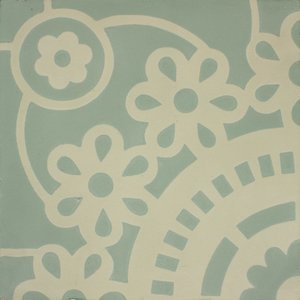 Sunflower Green Patroontegel Multi color 200 x 200